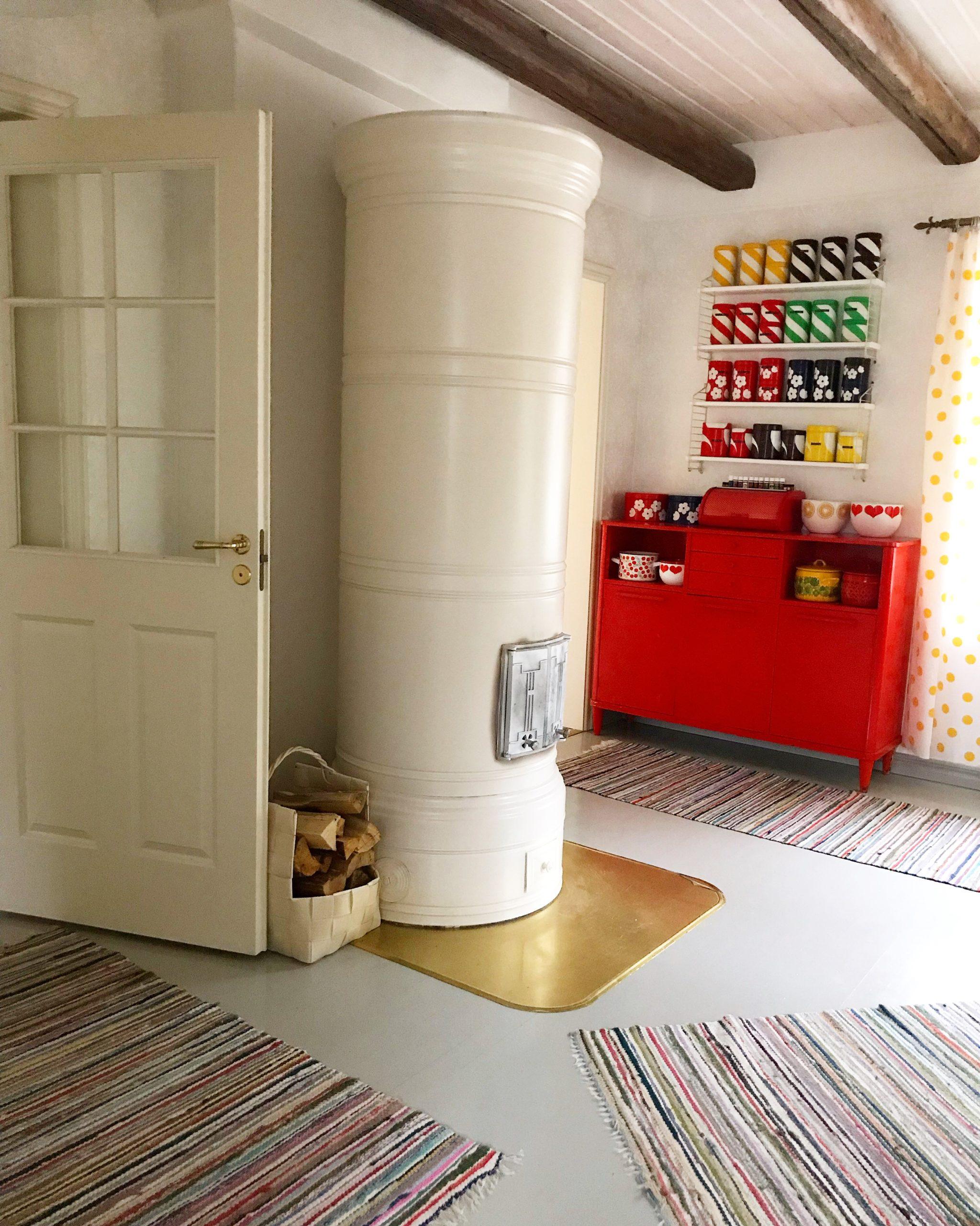 Elluyellow takka värikäs koti