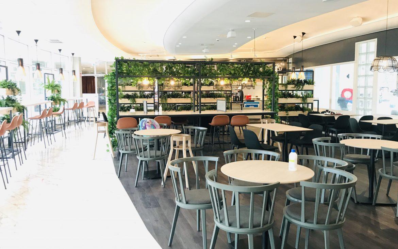 Elluyellow vierailemassa Nokian Scandic Edenissä, uudistunut ravintolamaailma.