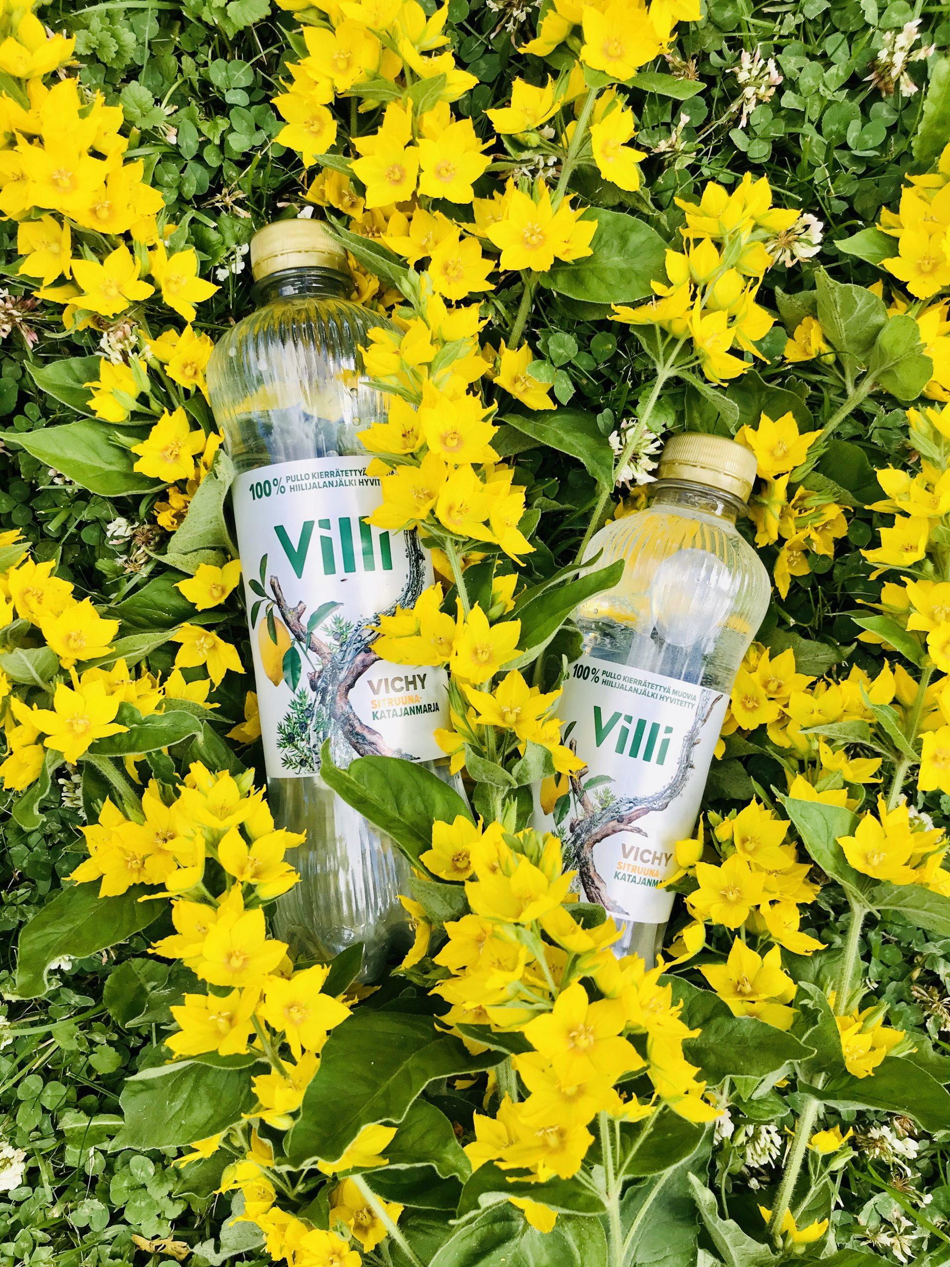 Elluyellow testaa kotimaisia ja ekologisia VIllivesiä, keltainen luontokuva.