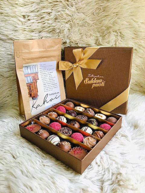 Elluyellow Hymyä ja hyvinvointia -joulukalenteri: Tallipihan suklaapuoti