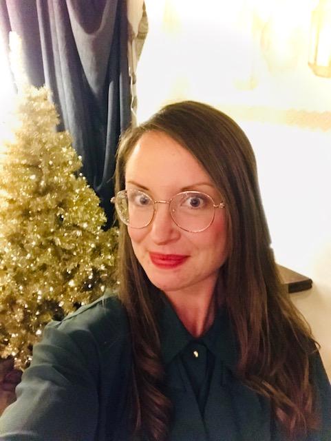 Elluyellow vierailemassa Tallipihan Hohde-joulukaupassa: Elluyellow