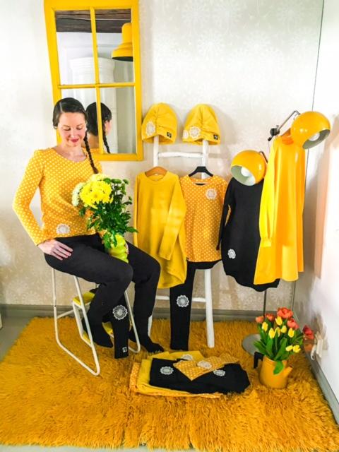 Elluyellow YellowQuu naisten vaatteet