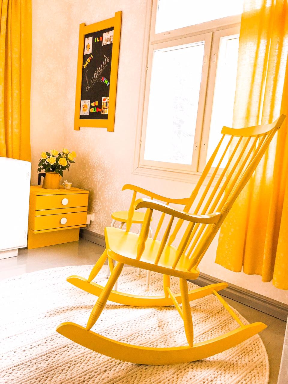 Elluyellow keltainen retrokoti