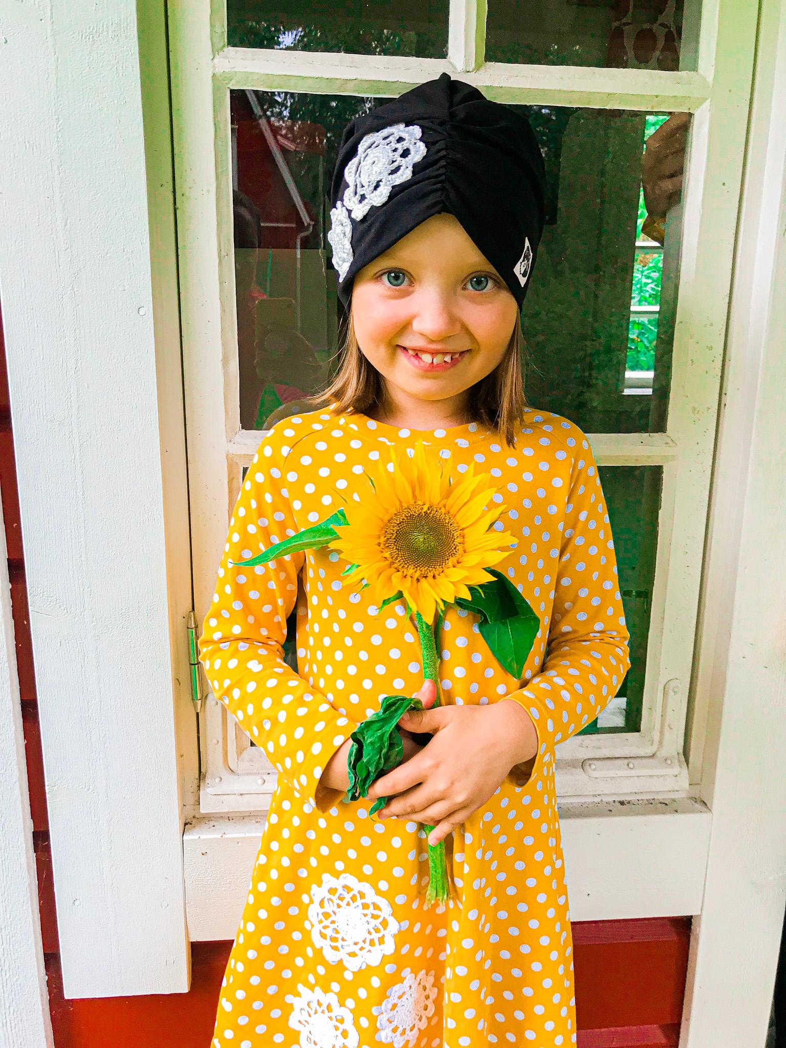 YellowQuu ja auringonkukat